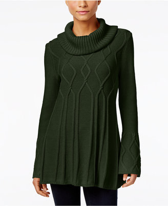 Style & Co. Cowl-Neck Tunic Sweater, Only at Macy's $54.50 thestylecure.com
