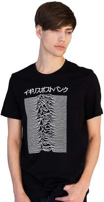 Pulsar Strand Clothing Japanese T Shirt Artwork Joy Division Used on Unknown Pleasures - British Post-Punk T-Shirt - XL