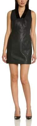 Kookai Women'S Midi Sleevelessdress - - (Brand Size: 40)