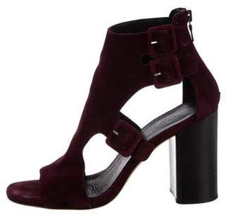 Rag & Bone Suede Ankle Strap Sandals