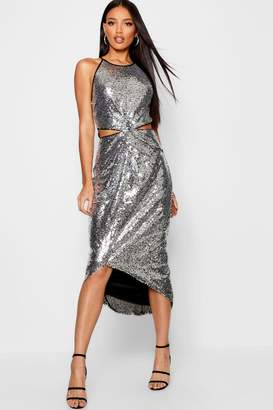 Silver Evening Dresses - ShopStyle UK a4a127413