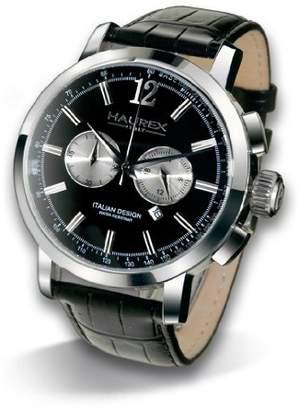 Haurex Italy Men's 9A330UNS Maestro Chronograph Leather Watch