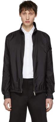 Prada Black Sport Bomber Jacket