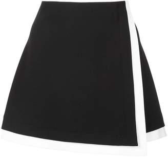 Alice + Olivia Alice+Olivia wrap mini skirt