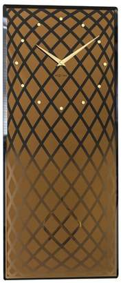 Nextime Copper Pendula Rectangular Wall Clock