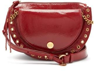 See By Chloé - Kriss Patent Leather Cross Body Bag - Womens - Red