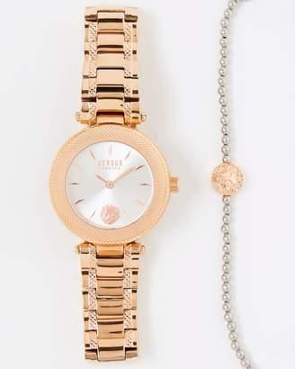 Versace Brick Lane 36mm Watch and Bracelet Set
