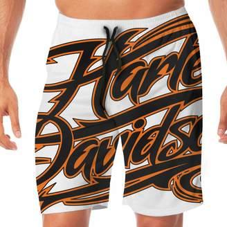 556c520c1e Harley-Davidson K321dsh21 Men's Beach Shorts Beach Swimming Vacation  Surfing Shorts Trunks Pants XXL