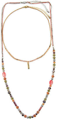 clear Decree Womens 32 Inch Link Necklace