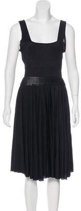 Balenciaga Sleeveless Midi Dress