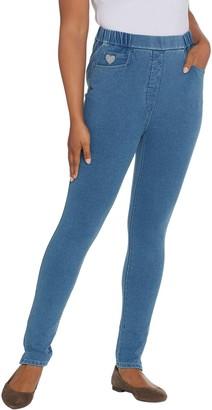 Factory Quacker DreamJeannes Short Pull-On Leggings with Pockets