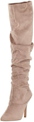 Charles by Charles David Muller Dressy Scrunchy Suede Boot