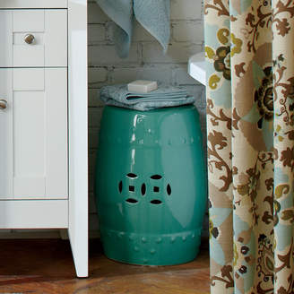 Birch Lane Glazed Ceramic Garden Stool