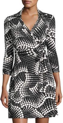 Julie Brown Milo Printed Wrap Dress