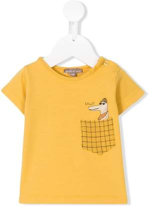 Emile et Ida salut pocket T-shirt
