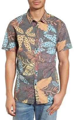 Billabong Sundays Floral Short Sleeve