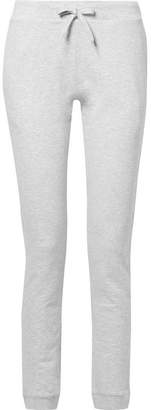 A.P.C. Cheer Cotton-blend Terry Track Pants - Light gray