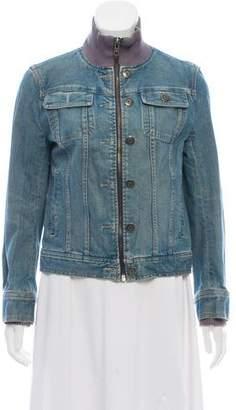 Marc Jacobs Zip-Up Denim Jacket