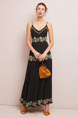 Raga Sarita Embroidered Maxi Dress