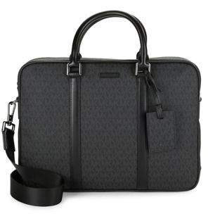 Michael Kors Covered Logo Briefcase