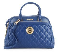 Love MoschinoQuilted Dome-Shaped Crossbody Bag