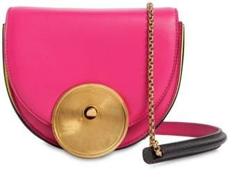 Marni Monile Tricolor Leather Shoulder Bag