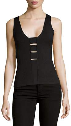 Narciso Rodriguez Women's Strappy Knit Tank Top