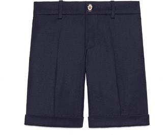 Children's wool flannel short $395 thestylecure.com