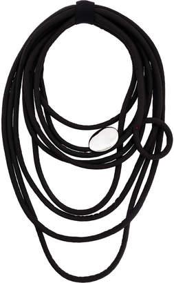 Maria Calderara multi string necklace