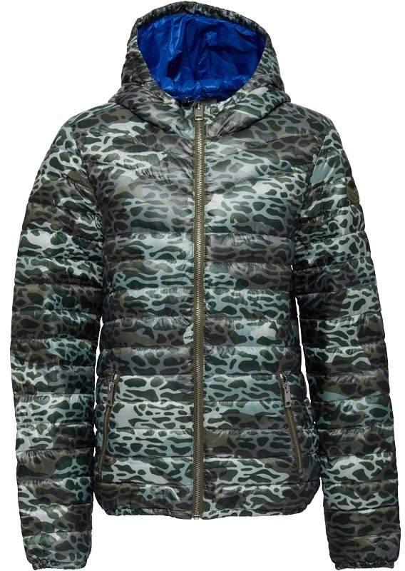 Boys Camo Print Hooded Jacket Camo