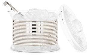 Tom Dixon Tank Platinum Ice Bucket & Tongs