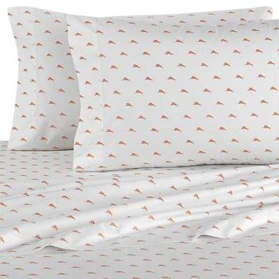 Sailfish California King Sheet Set in Papaya