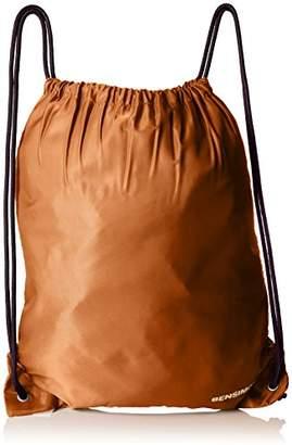 Bensimon Japan Backpack, Women's Backpack Handbag, Marron (Ocre), 0.5x43x37.5 cm (W x H L)