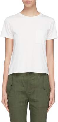 Theory Chest pocket Pima cotton T-shirt