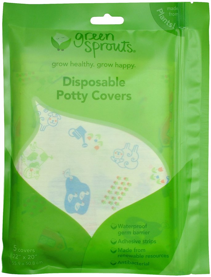 green sprouts by i play Disposable Potty Covers - 5 pk