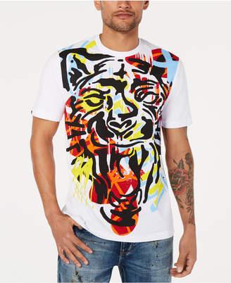 4be174cc0912 Sean John Men Stamp Tiger Graphic T-Shirt