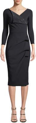 Chiara Boni Nelida Asymmetric-Ruched Dress
