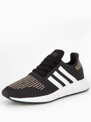 adidas Swift Run - Black Rainbow