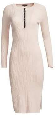 Rag & Bone Brynn Rib-Knit Sweater Dress