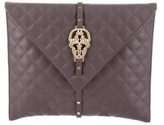 Thomas Wylde Quilted Leather Clutch