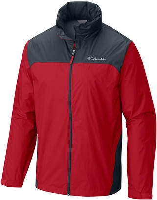 Columbia Men's Big & Tall Glennaker Lake Colorblocked Rain Jacket