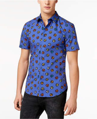 Love Moschino Men's Slim-Fit Printed Shirt