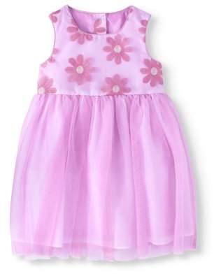 Healthtex Toddler Girl Embroidered Ballerina Special Occasion Dress