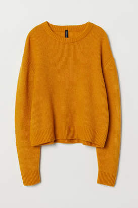 H&M Knit Sweater - Yellow