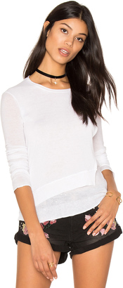 Inhabit Layered Crew Neck Sweater $220 thestylecure.com