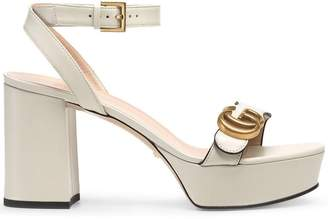 93dab4f533 White Platform Sandals - ShopStyle UK