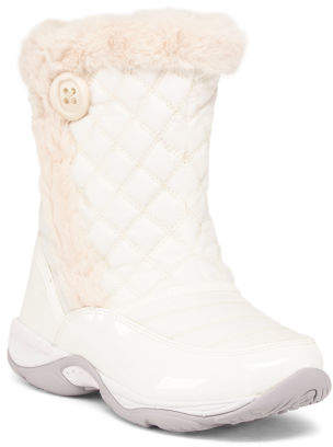 Wide Comfort Mid Shaft Winter Boots
