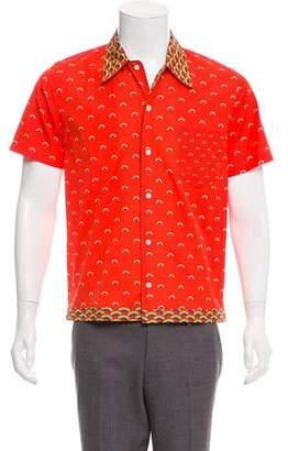 Marc Jacobs Rainbow Print Button-Up Shirt