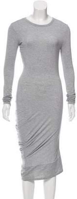 Alexander Wang Long Sleeve Knee-Length Dress