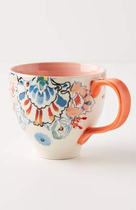 Anthropologie Eres Set of 4 Mugs